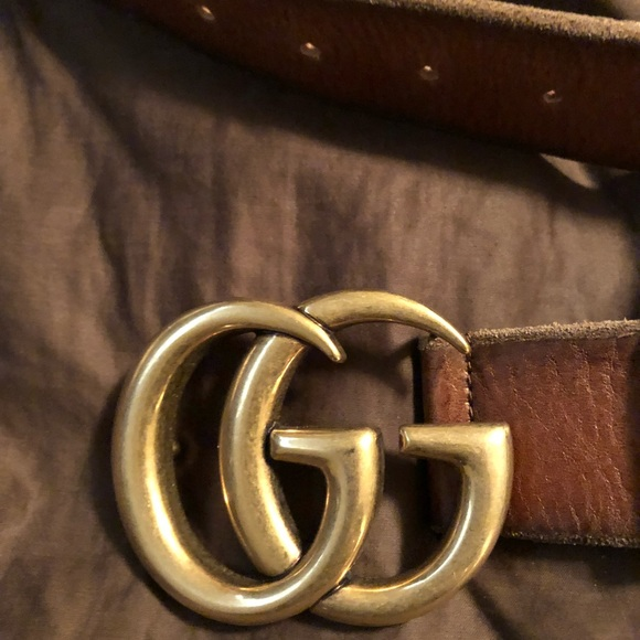 b147adab5 Gucci Accessories   Mens Gg Belt Size 115 Is Size 42   Poshmark